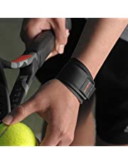 Aider Wrist Brace, Grip Master For Tendonitis & Rocket Sports Like Badminton, Tennis, Table Tennis