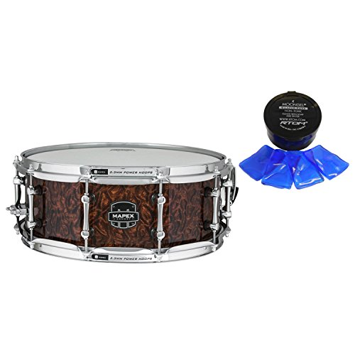Mapex ARML4550KCWT Dillinger 14x5.5'' Maple Snare Drum w/ Moongel by Mapex