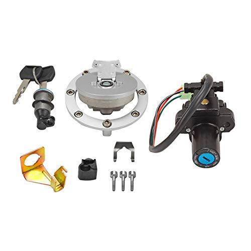 Ignition Switch Fuel Gas Cap Seat Lock Key Set for Honda CBR600RR CBR1000 VFR800