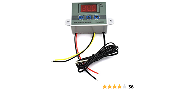 Hj Garden Xh W3002 Mini Thermostat Dc 12v 10a Digital Led Temperature Controller 50 To 110 Degree Heating Cooling Temperature Control Switch With Waterproof Sensor Probe Amazon Com Industrial Scientific