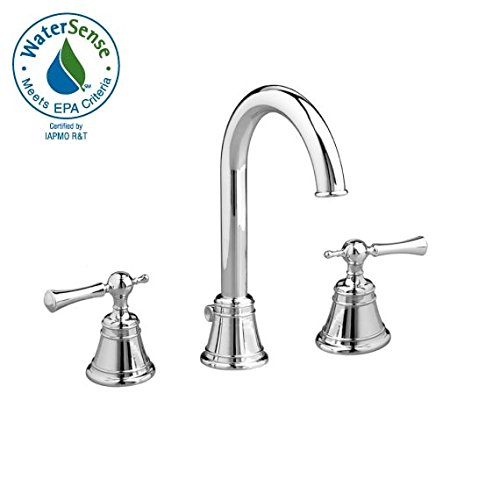Jado 842/813/144 Hatteras Widespread Lavatory Faucet with High Spout, Lever Handles, Brushed Nickel