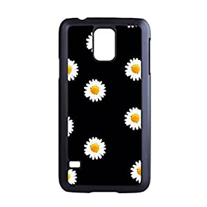 UponStyle Little Daisy Print Black Hard Case For Samsung Galaxy S5 case