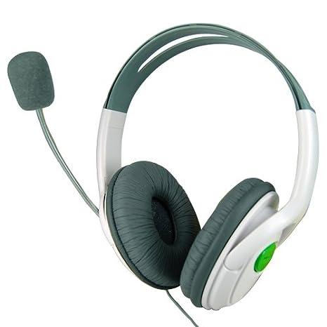 Accessotech L 2 Cuffie Auricolari Microfono Cuffie per Microsoft Xbox 360  Live On-line Cuffie b68538f481c4