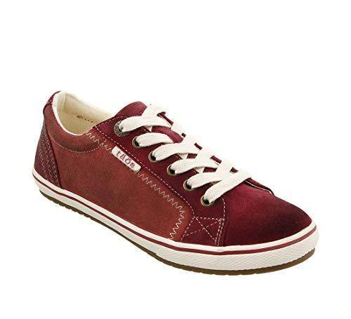 Taos Footwear Women's Retro Star Red Multi Sneaker 10.5 M US ()