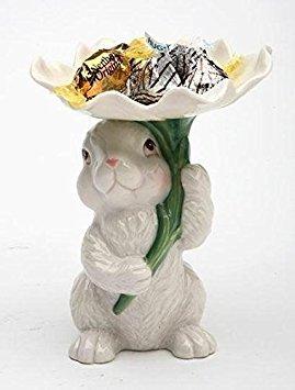 Porcelain Angels Candle Holder (Cosmos 10590 Fine Porcelain Bunny Candy/Candle Holder, 3-3/4-Inch)