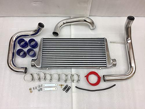 Intercooler+Aluminum Piping Kits for Nissan 1993-1998 Skyline GT-R ()