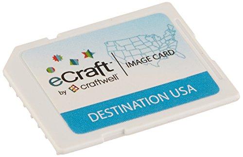 Craftwell ESD-DUS11 eCraft SD Image Cards-Destination USA