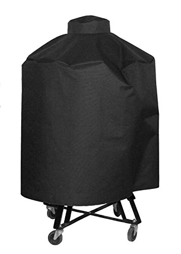 Cowley Canyon Mountain Peak Brand Cover made to fit extra-large Big Green Egg, Kamado Joe 24 and other Kamado Grills.