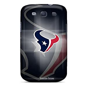 Shock Absorption Hard Cell-phone Case For Samsung Galaxy S3 With Unique Design HD Houston Texans Series MarcClements