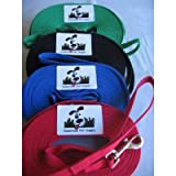 Long Dog Puppy Obedience Recall Training Agility Lead, Leash GREEN, BLACK, RED, BLUE, or ORANGE - by, Pet Supply City, LLC