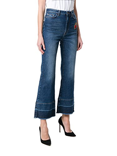 DOLCE E GABBANA Damen FTAWMZG8T24B9681 Blau Baumwolle Jeans jsIFIPrXdg