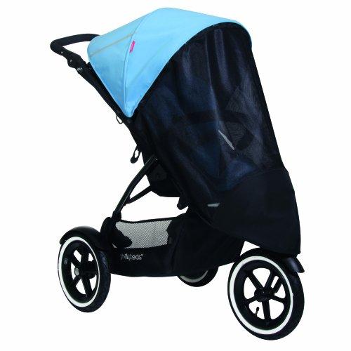 (phil&teds UV Sunny Days Mesh Cover for Single Navigator Stroller,)