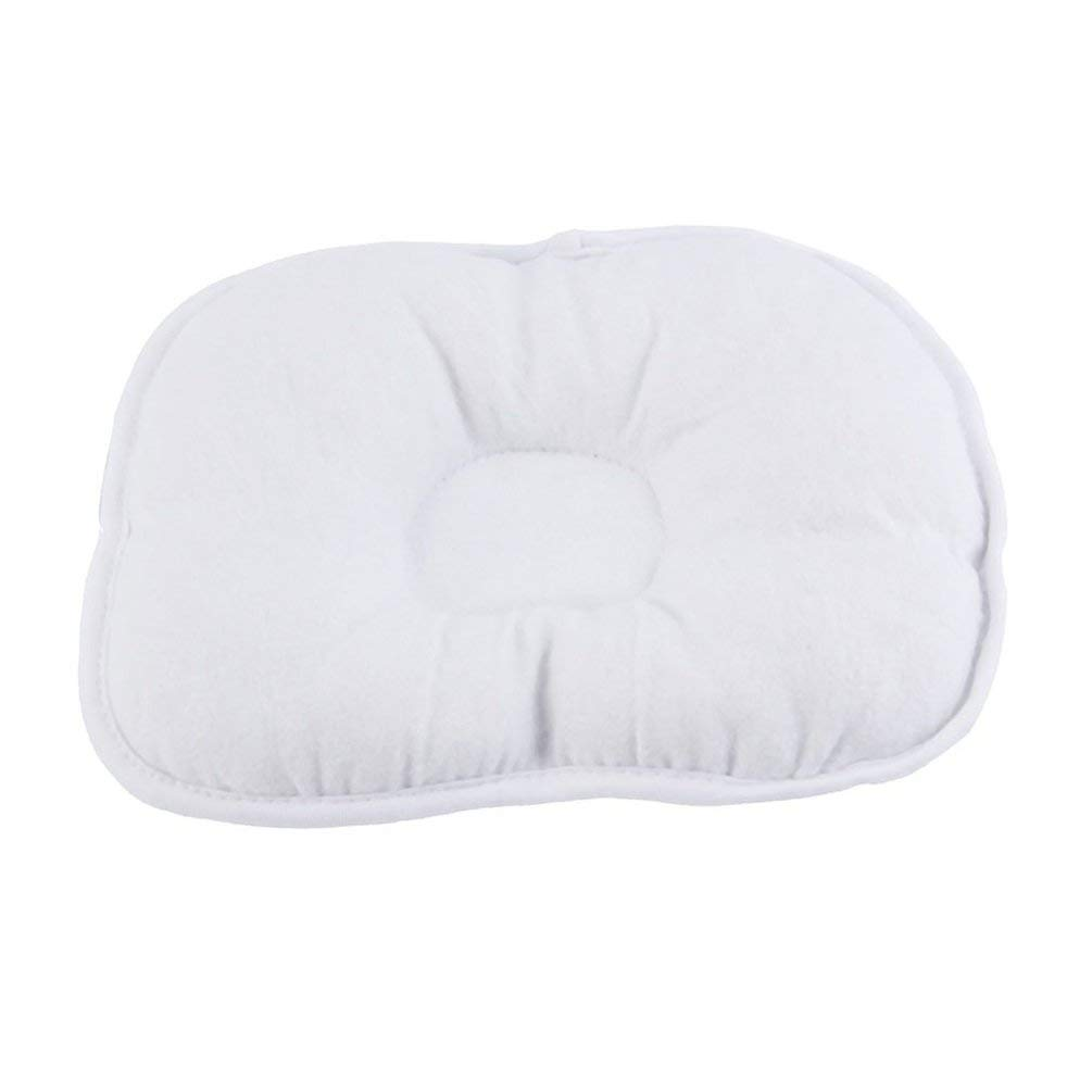 TAOHOU Bear Pattern Pillow Newborn Infant Baby Support Cushion Pad Prevent Flat Head