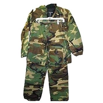 Military surplus EE. UU. soldado traje químico, Woodland ...