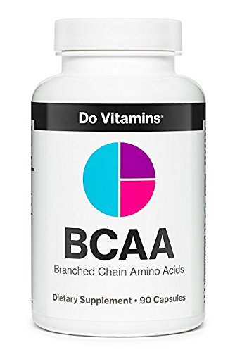 BCAA Capsules - Pure Plant Based Essential Branched Chain Amino Acids Supplement for Bodybuilding Pre Workout & Post Workout Muscle Recovery - Natural & Vegan (2100mg, 90ct)