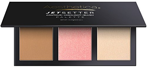 Blush Bronzer Highlighter Palette - 6