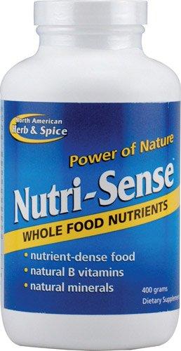 North American Herb & Spice Nutri-Sense Whole Food Nutrients -- 400 g - 3PC by North American Herb & Spice