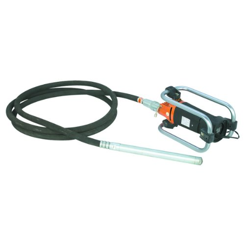 Concrete Vibrator 16-inch Vibrating Head 4,000 RPM ()