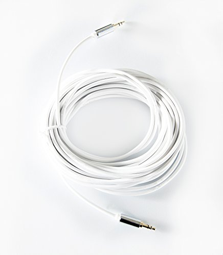 OMNIHIL 30ft' 3.5mm Headset Audio AUX Extension Cable Male to Male (30 Feet Long)