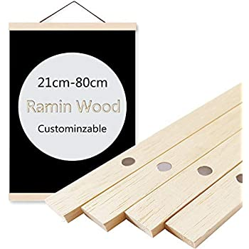 Amazon Com Modern Wooden Painting Frame Magnetic Ramin Wood Photo