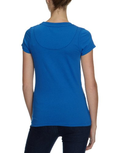 Only - Camiseta de manga corta para mujer Azul (Nautical Blue)