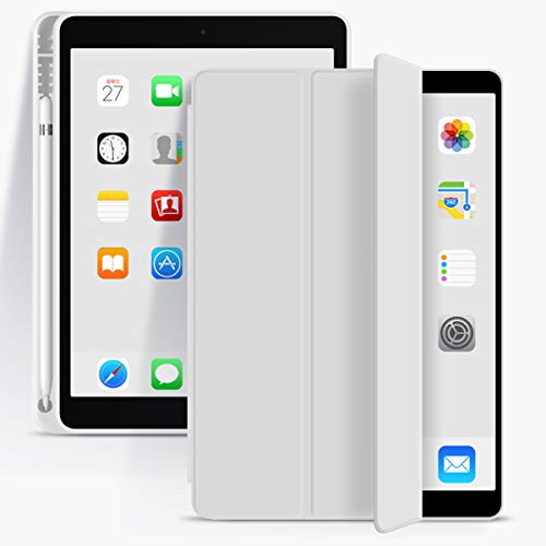 Funda para iPad de 10,2 pulgadas iPad 7th 8th Gen - Gris
