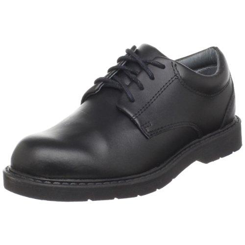 School Issue Scholar 5200 Uniform Shoe (Toddler/Little Kid/Big Kid),Black Leather,3 M US Little Kid