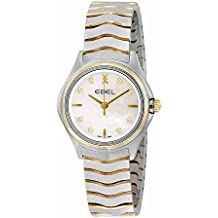 EBEL Women's 1216197 Analog Display Swiss Quartz Two Tone Watch