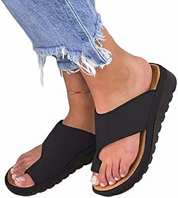 Women Comfy Platform Sandal Shoes Summer Beach Travel Shoes