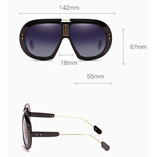 De Gafas Box Antideslumbrante Personalidad Sol Ligeras Big Hombre Sol Gafas Pesca Deportivas Gafas Gafas UV Protección Unisex Corrientes Black GAOJUAN Blue De Conducción para De xwFY6UqXq