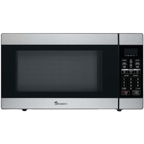MAGIC CHEF MCD1811ST 1.8 CUBIC-FT 1100-WATT STAINLESS MICROWAVE WITH DIGITAL TOUCH