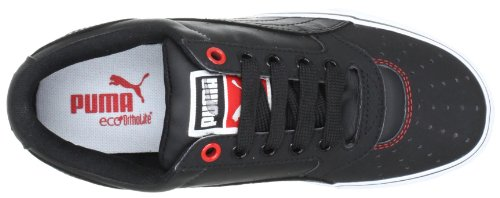 Puma - Zapatillas bajo, tamaño 46 UK, color chocolate brow Schwarz (black-high risk red-silver 03) (Schwarz (black-high risk red-silver 03))
