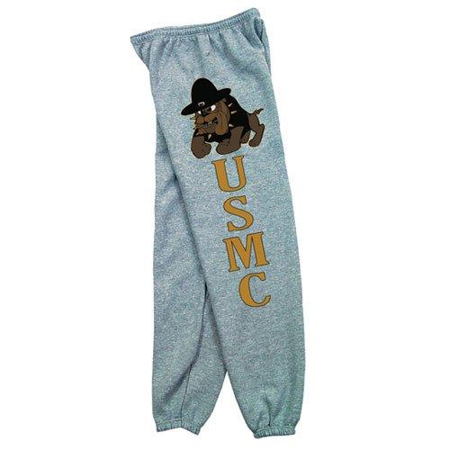 Fox Outdoor Products Marines Bulldog Sweatpants, Grey, Large