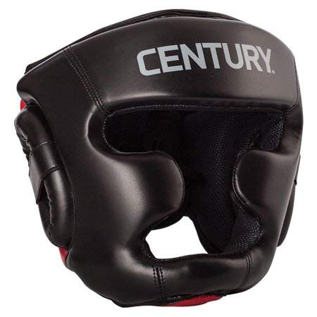 Century Drive Full Face Headgear, Red/Black, Large/X-Large