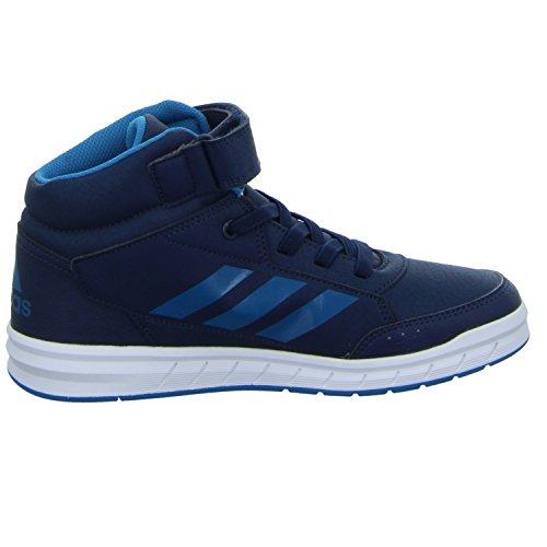 adidas Altasport Mid el K, Zapatillas de Deporte Unisex Niños Azul (Maruni / Petmis / Ftwbla)