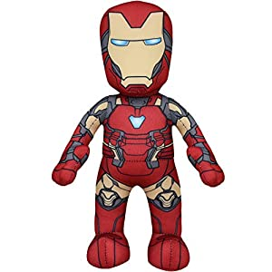 Bleacher Creatures Marvel's Iron Man 10″ Plush Figure – A Superhero for Play and Display