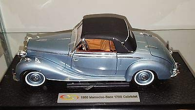 (Signature Models 1/18 1950 Mercedes 170S Cabriolet Red (18123R) )