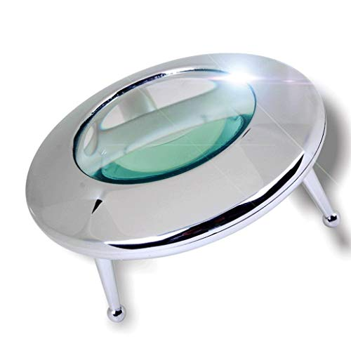 XiaoZou Magnifying Glass with LED Light 10 Times High-Definition Light Dome LED Light Reading Magnifying Glass