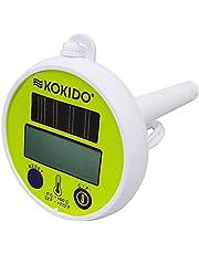 Kokido Design-O Solar-thermometer, automatische uitschakeling