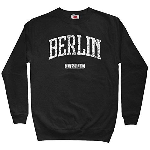 Smash Transit Men's Berlin Germany Sweatshirt - Black, Small