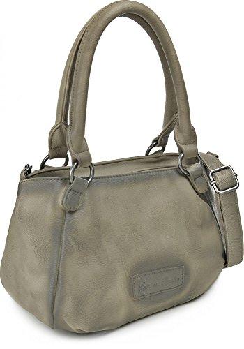 FRITZI AUS PREUSSEN, borse da donna, borse, 31 x 18 x 17 cm (wxhxd), colore: grigio chiaro