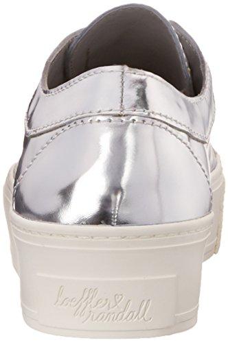 Randall Leather Fashion Sneaker Women's Miko Silver Mirror Loeffler OIwxdBOq