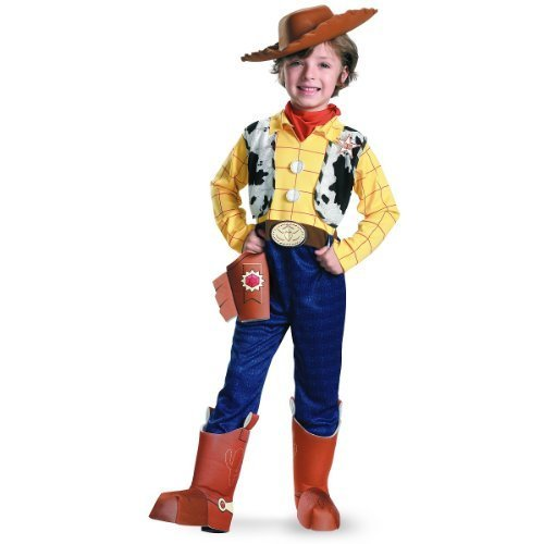 Woody Deluxe Costume - Medium (Cowboy Boot Spats)