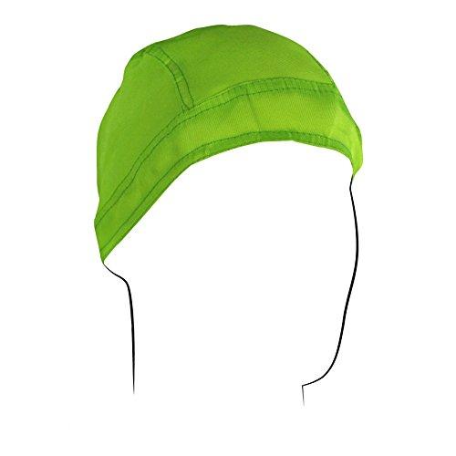 (ZANheadgear Flydanna Bandanna, Cotton/Polyester, High-Visibility Lime)