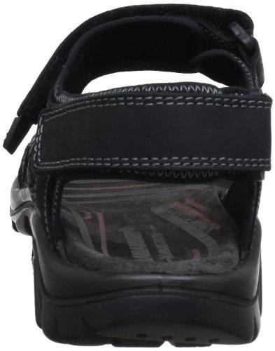 Black 40201 Salamander sportivi Nero Dino 31 11 Sandali uomo wqqnUfg1
