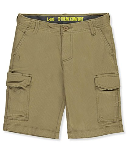 LEE Big Boys' Extreme Comfort Rover Cargo Short, Nomad, 16 (Rover Short)