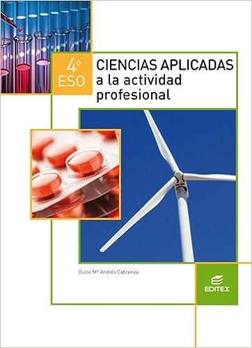 Ciencias aplicadas a la actividad profesional 4º ESO Secundaria ...