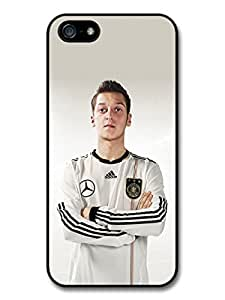 Mesut ?zil Football Player Posing White T Shirt Case For Sam Sung Galaxy S4 I9500 Cover