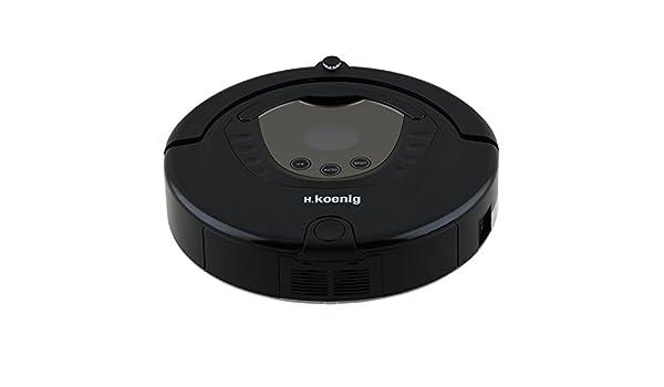 H.Koenig robot aspirador SWR28 | Robot aspirador fiable y exacta de la última generación | Control mediante un algoritmo inteligente | Llega incluso lugares ...