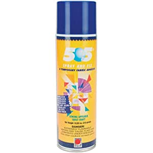 Odif Usa 505 Spray and Fix Temporary Fabric Adhesive, 10.93 oz.
